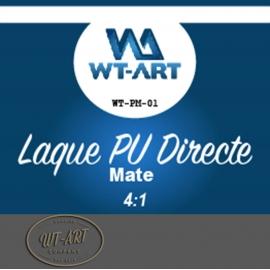 LAQUE POLYURETHANE ACCROCHE DIRECTE MATE POT DE 1 KG