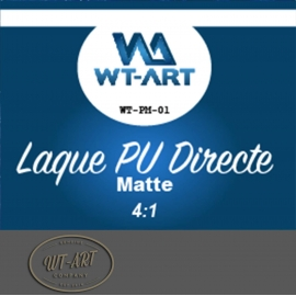 LAQUE POLYURETHANE  MATE ACCROCHE DIRECTE  POT DE 5 KG