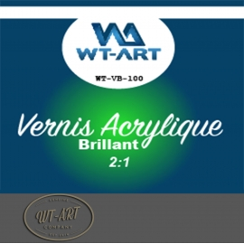 VERNIS ACRYLIQUE  BRILLANT  WT-VB-100